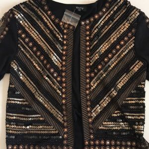 Lulu's sequined jacket